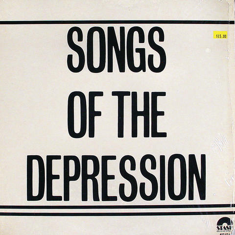 "Songs of the Depression Vinyl 12"" (New)"
