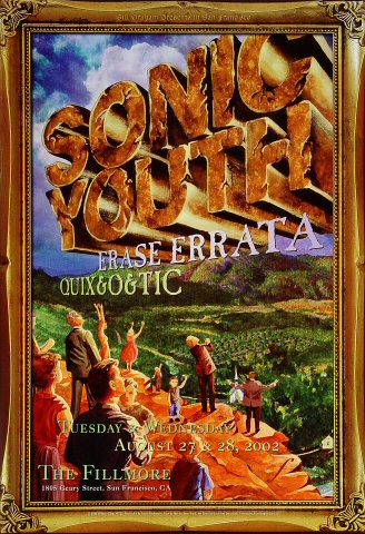 Sonic Youth Poster