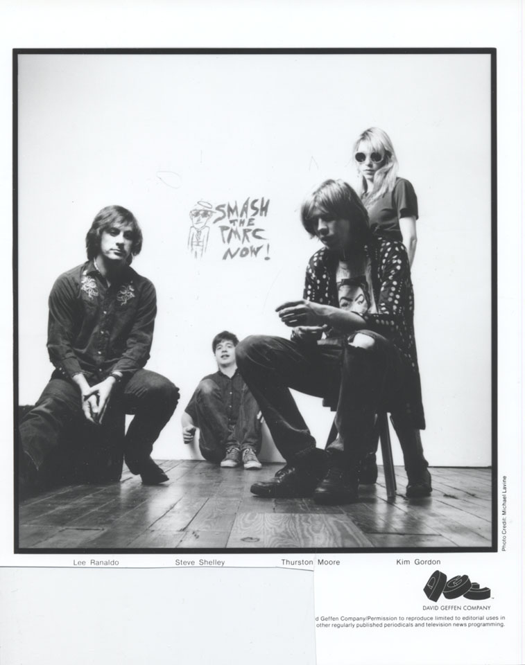 Sonic Youth Promo Print