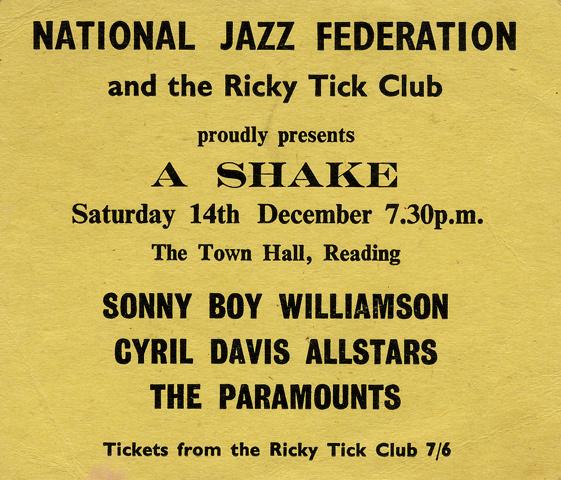 Sonny Boy Williamson Handbill