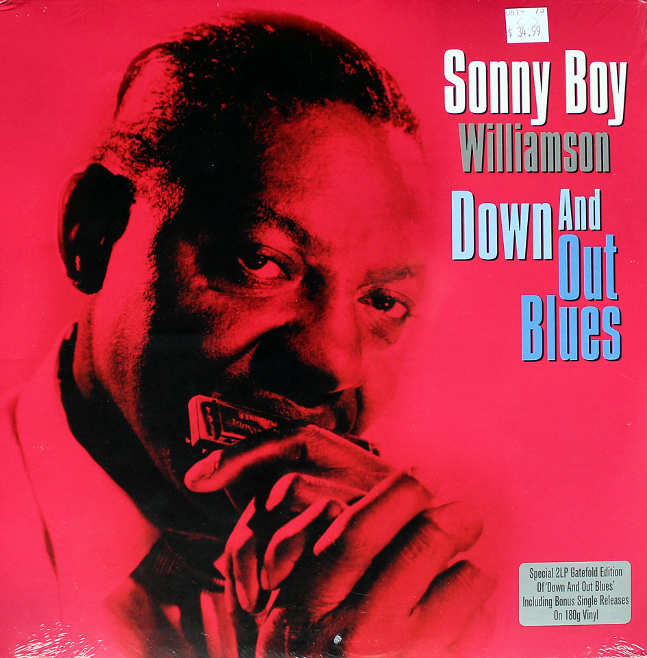 "Sonny Boy Williamson Vinyl 12"" (New)"