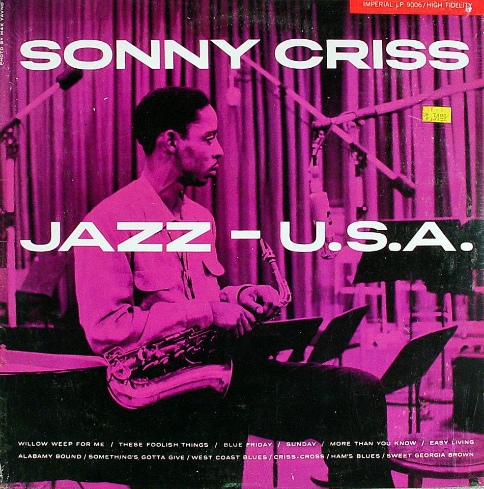"""Sonny Criss Vinyl 12"""" (New)"""