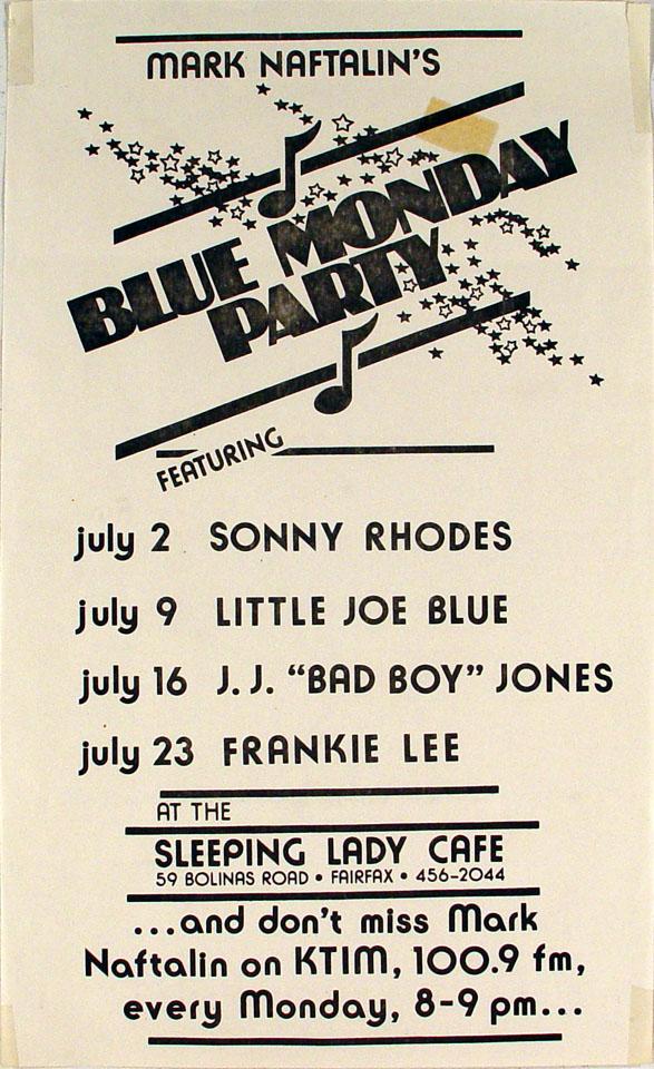 Sonny Rhodes Poster
