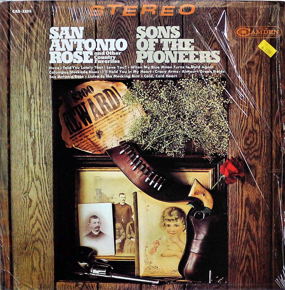 """Sons Of The Pioneers Vinyl 12"""" (Used)"""