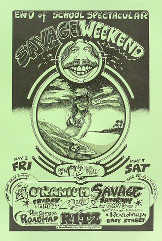 Sons of Uranium Savage Poster