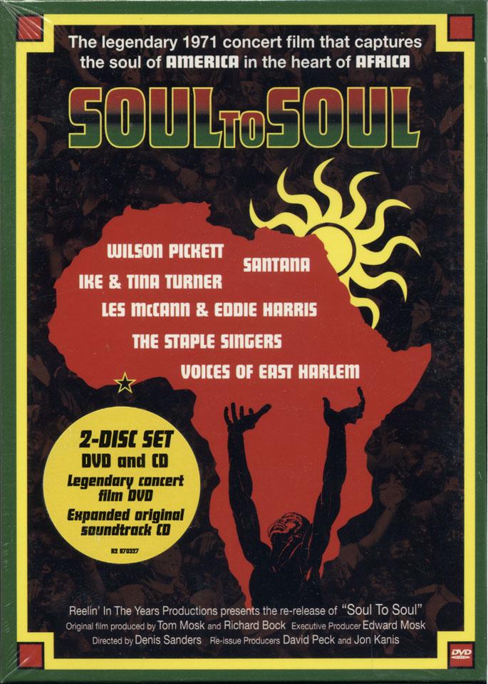 Soul To Soul DVD