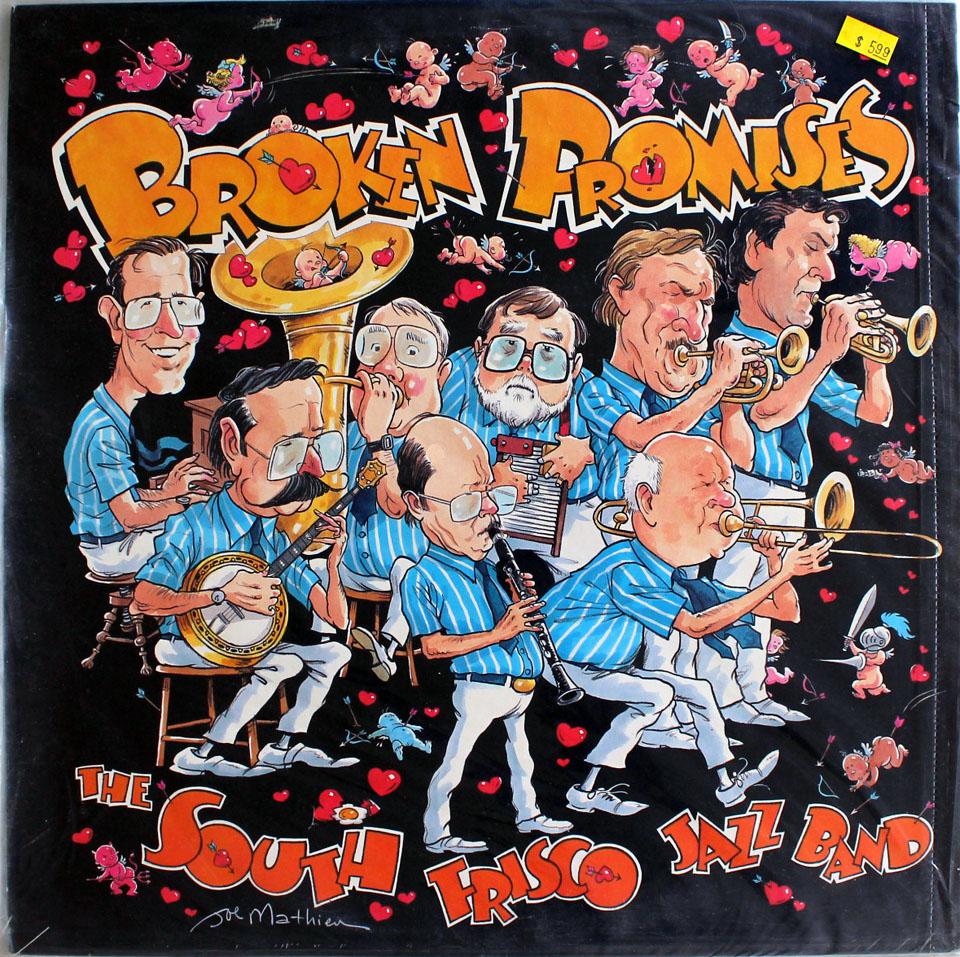"South Frisco Jazz Band Vinyl 12"" (New)"