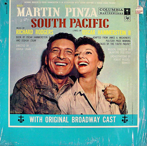 """South Pacific Vinyl 12"""" (Used)"""