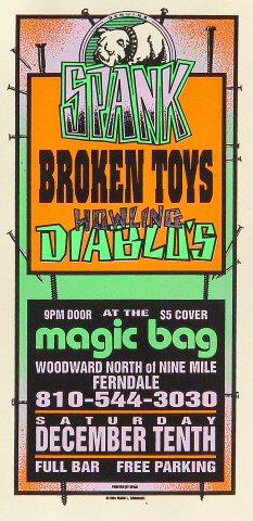 Spank Handbill