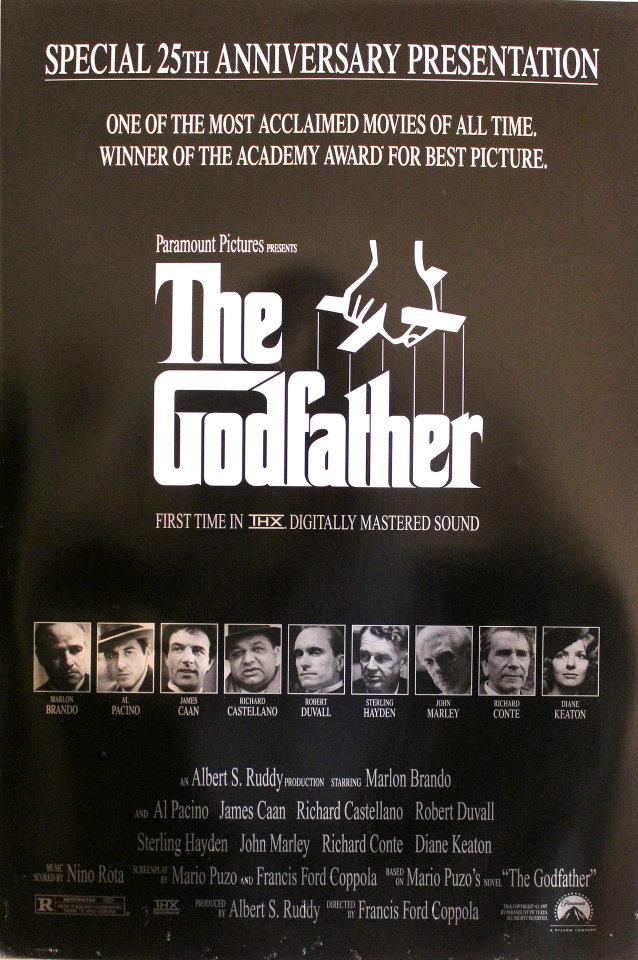 Image result for the godfather poster