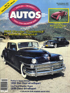 Special Interest Autos No. 101 Magazine