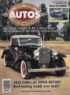 Special Interest Autos No. 108 Magazine