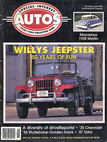 Special Interest Autos No. 165 Magazine