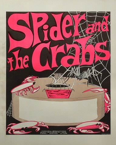 Spider and the Crabs Poster