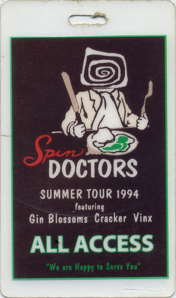 Spin Doctors Laminate