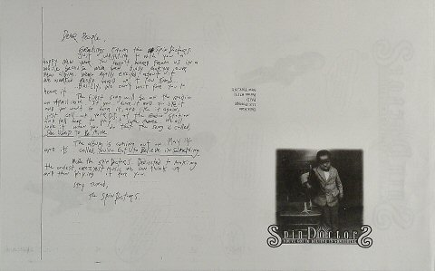 Spin Doctors Poster reverse side
