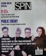 Spin Magazine March 1990 Magazine
