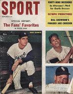 Sport Magazine September 1960 Magazine