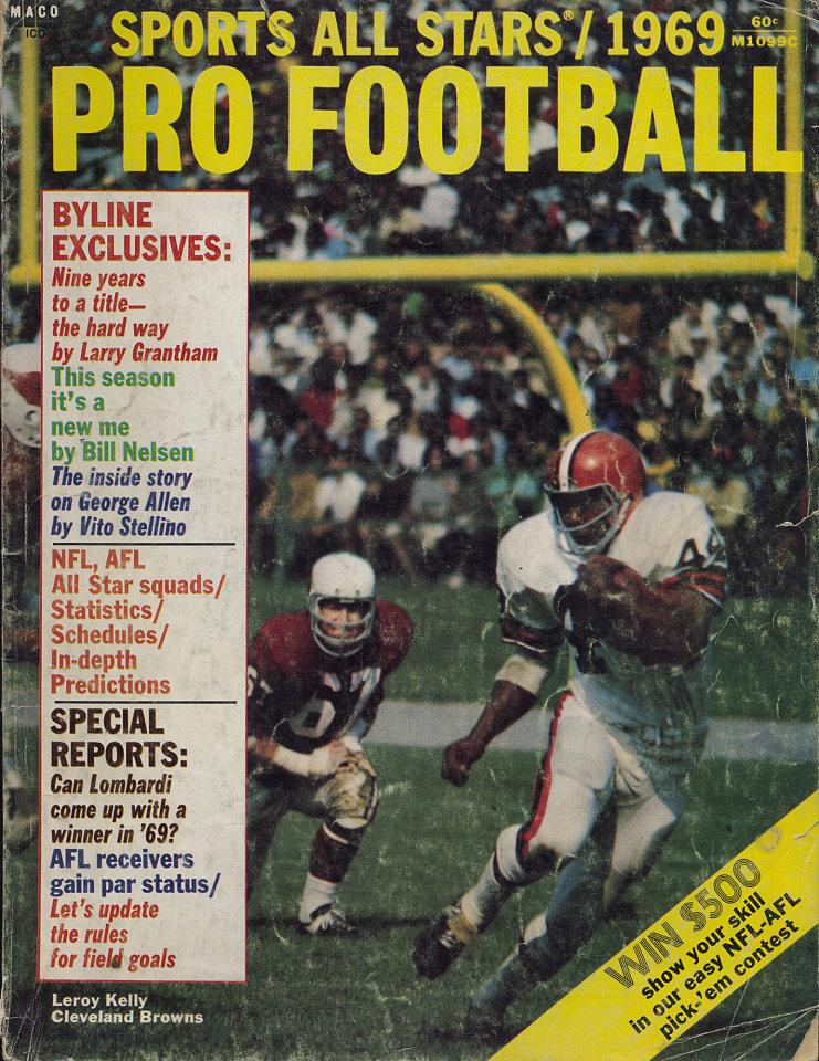 Sports All Stars Pro Football 1969