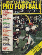 Sports All Stars Pro Football 1969 Magazine