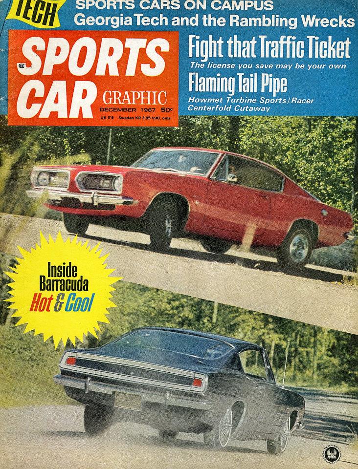 Sports Car Graphic Vol. 7 No. 12