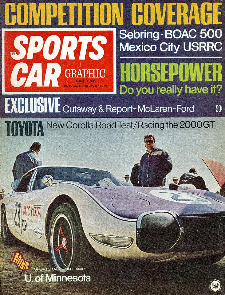 Sports Car Graphic Vol. 8 No. 6