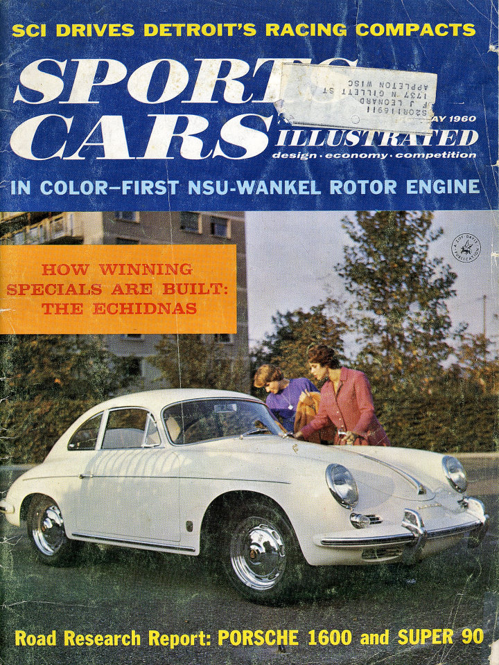 sports cars illustrated vol 5 no 11 magazine may 1 1960 at wolfgang 39 s. Black Bedroom Furniture Sets. Home Design Ideas