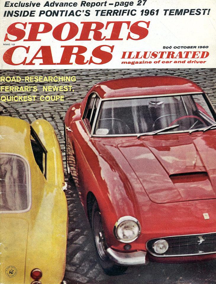 Sports Cars Illustrated Vol. 6 No. 4 Magazine, Oct 1, 1960 at ...