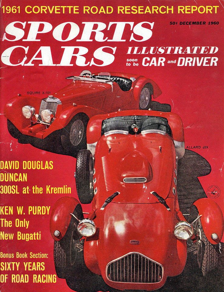 Sports Cars Illustrated Vol. 6 No. 6 Magazine, Dec 1, 1960 at Wolfgang\'s