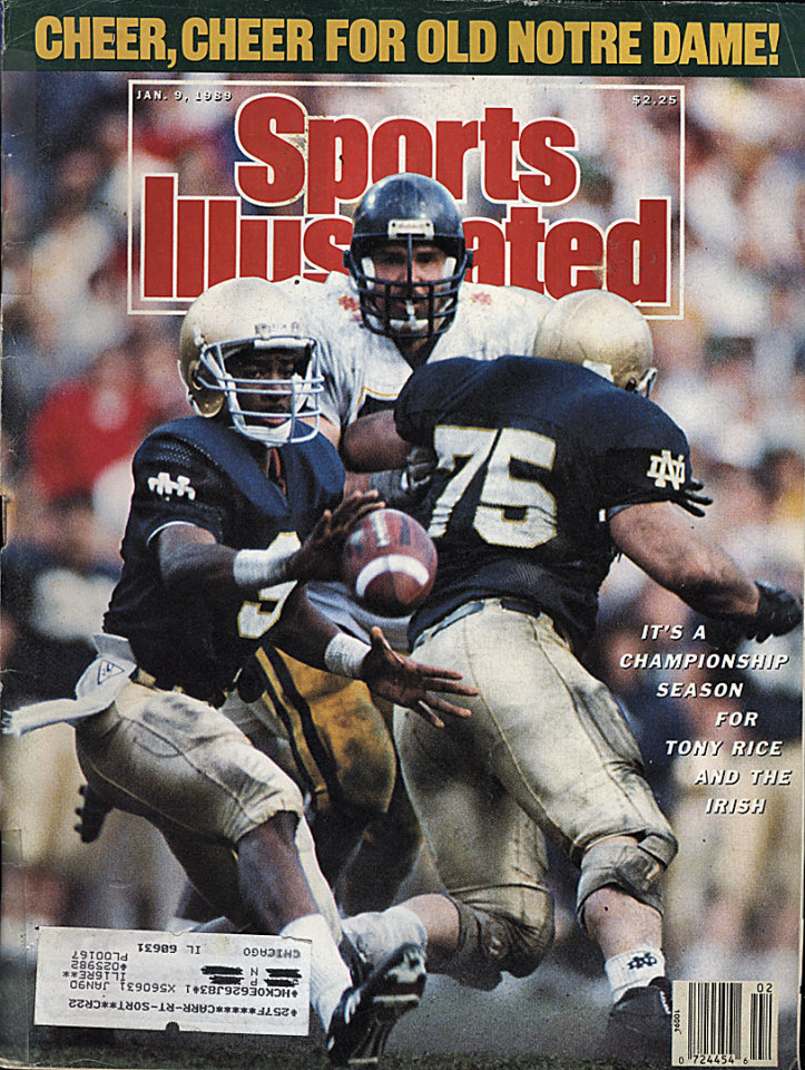 Sports Illustrated  Jan 9,1989