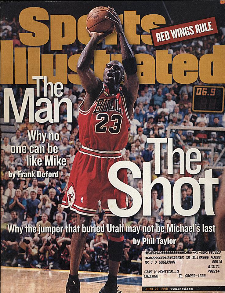 Sports Illustrated  Jun 22,1998
