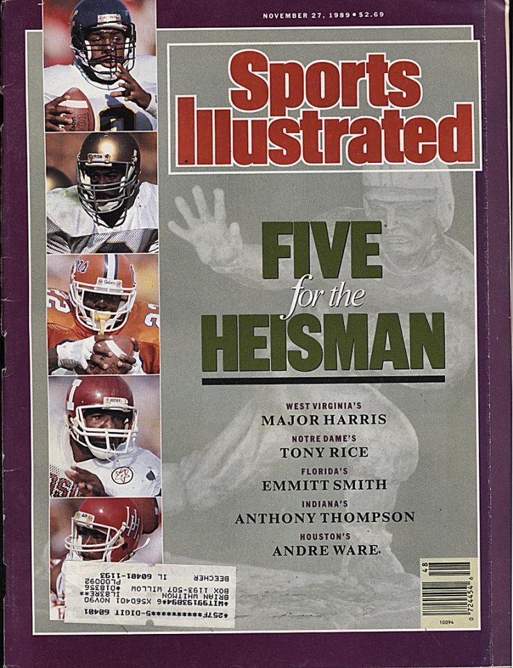 Sports Illustrated  Nov 27,1989