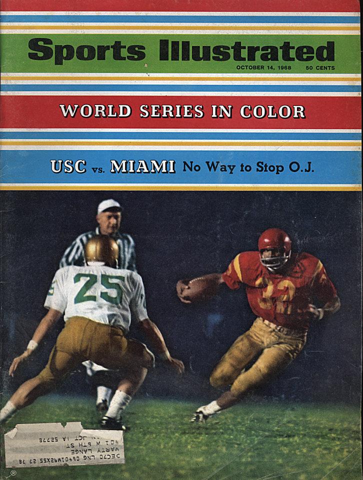 Sports Illustrated  Oct 14,1968