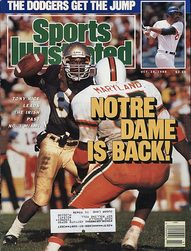 Sports Illustrated  Oct 24,1988