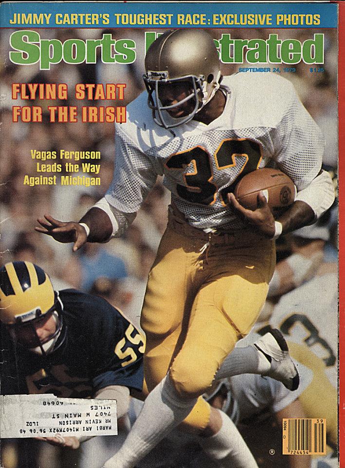 Sports Illustrated Vol. 51 No. 13