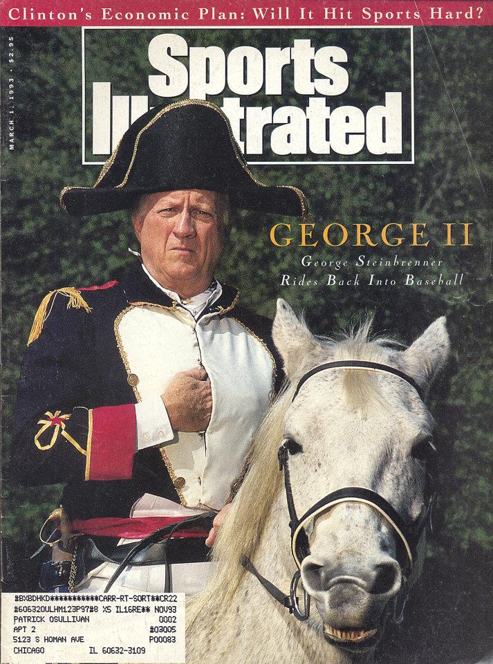 Sports Illustrated Vol. 78 No. 8