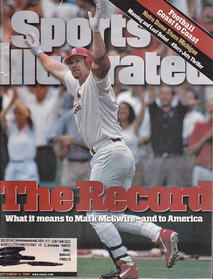 Sports Illustrated Vol. 89 No. 11