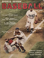 Sports Review: Baseball 1956 Magazine