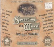 Spreading The Word Early Gospel Recordings CD