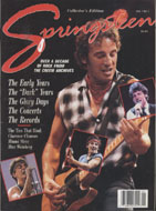 Springsteen Collector's Edition Vol. 1 No. 1 Magazine