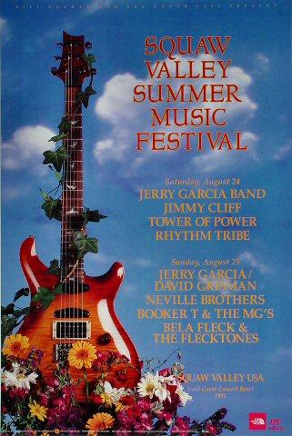 Squaw Valley Summer Music Festival Poster