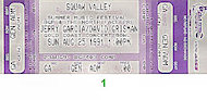 Squaw Valley Summer Music Festival Vintage Ticket