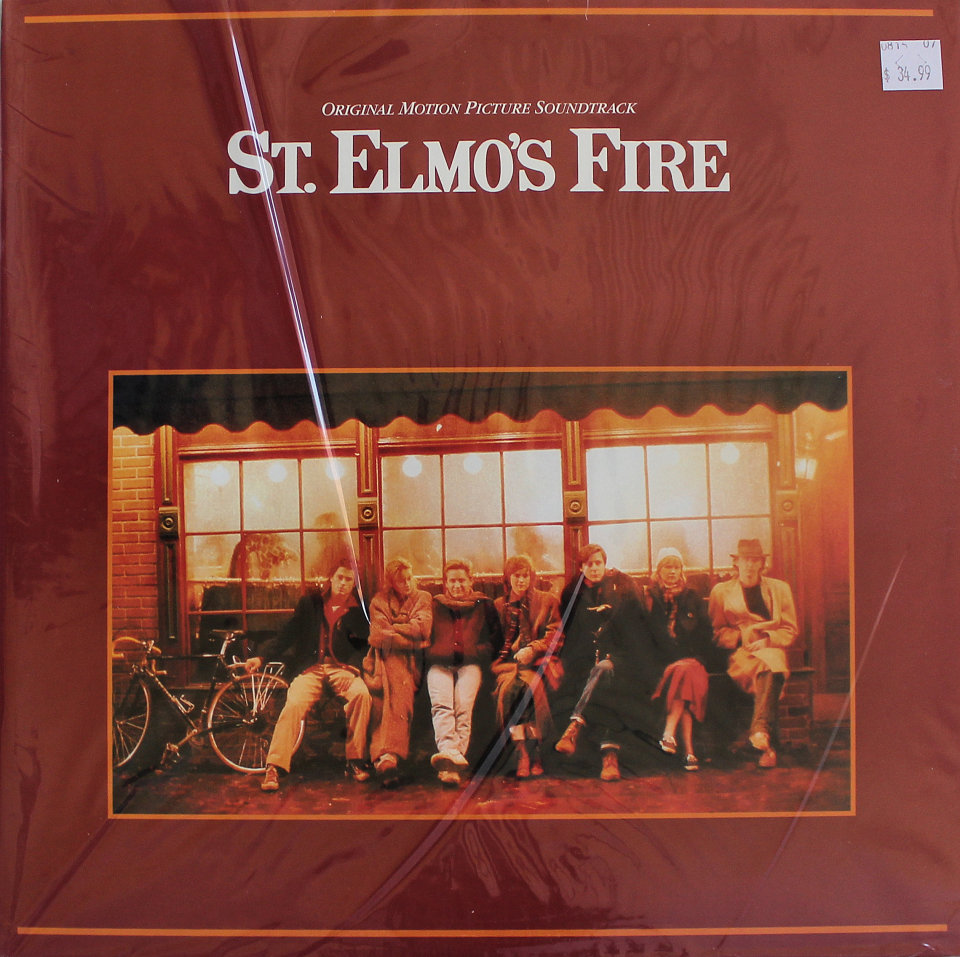 """St. Elmo's Fire Vinyl 12"""" (New)"""