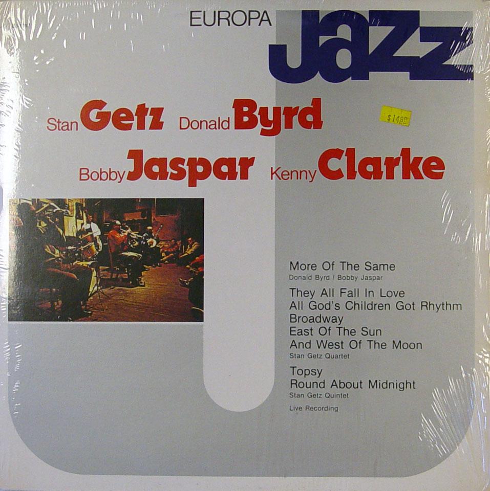 """Stan Getz / Donald Byrd / Bobby Jaspar / Kenny Clarke Vinyl 12"""" (New)"""