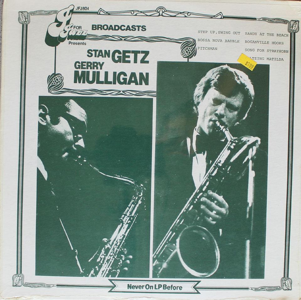 """Stan Getz / Gerry Mulligan Vinyl 12"""" (New)"""