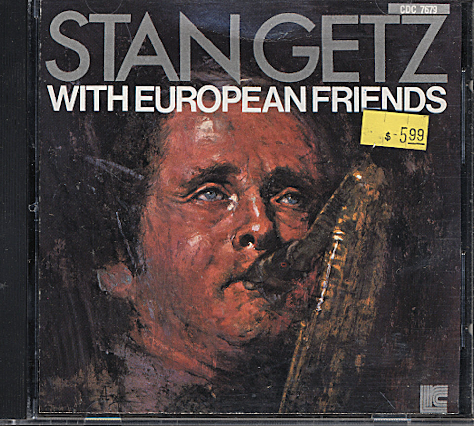 Stan Getz With European Friends CD
