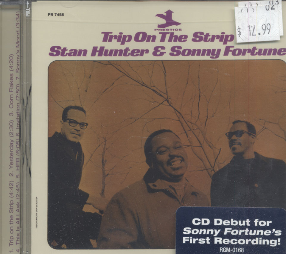 Stan Hunter & Sonny Fortune CD