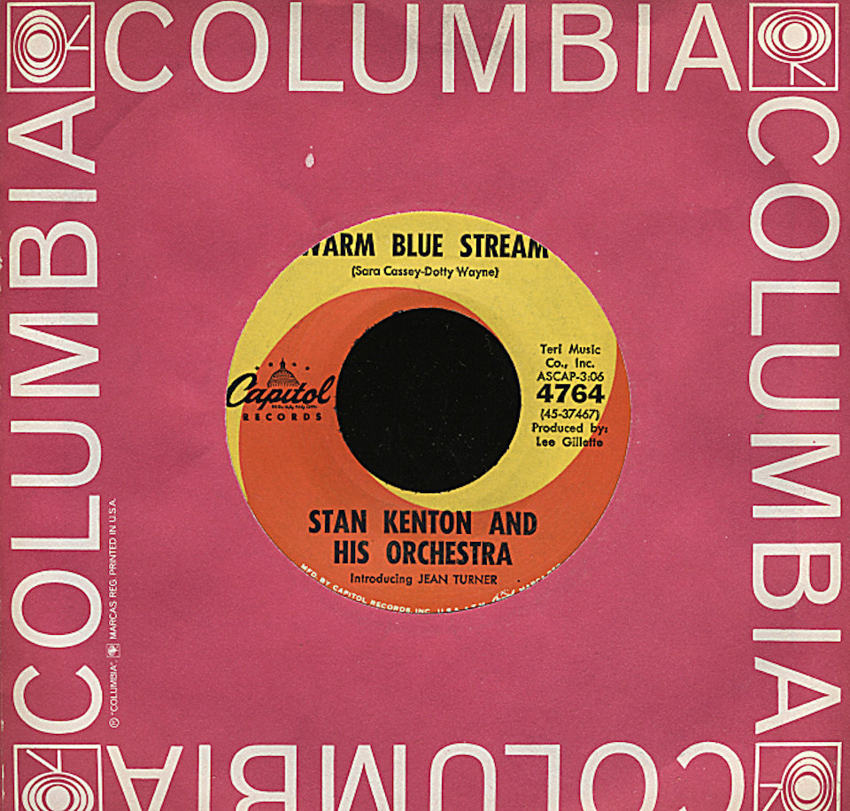 "Stan Kenton and his Orchestra - Introducing Jean Turner Vinyl 7"" (Used)"
