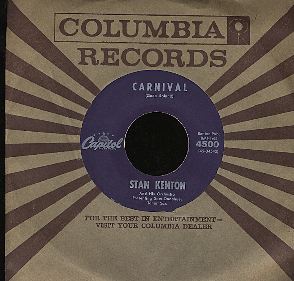 "Stan Kenton and His Orchestra Vinyl 7"" (Used)"