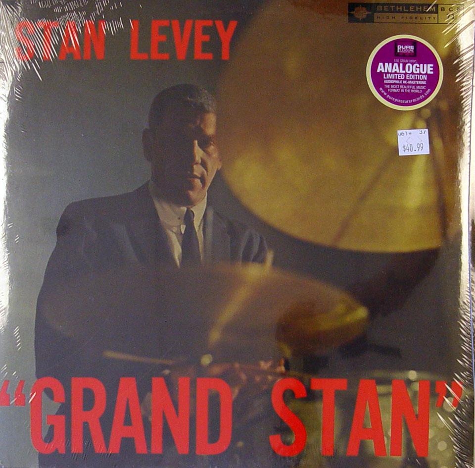 "Stan Levey Vinyl 12"" (New)"